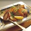 Gebakken aardappelen met verse kruiden